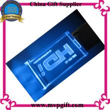 3.0 Disco de cristal USB con iluminación