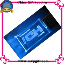 3.0 Crystal USB Disk with Lighting