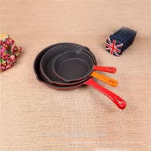 Популярный сделано в Китае чугун антипригарный сковорода набор
