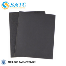 Factory Price Waterproof Black Sand Paper with MPA Certificate