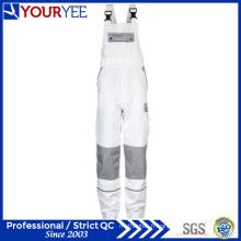 Robes de soirée blanches personnalisées avec porte-genouillères (YBD118)