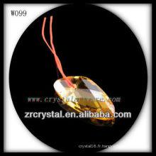 Belle perle de cristal W099