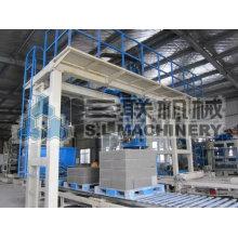 Máquina de construção de paredes de tijolos