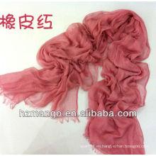 Moda de color sólido Long Silk Modal Hijab