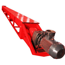 U type screw conveyor for material conveying