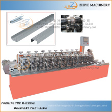 Metal Garage Door Moulding Machinery For CNC Steel Roller Shuttering Door Make Machine