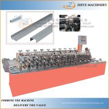 Metal garagem porta moldagem máquinas para CNC Steel rolo de cofragem Door Make Machine