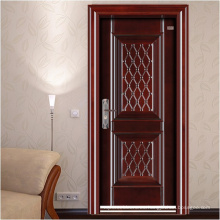 Nueva puerta de acero de diseño