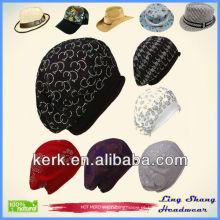 2013 Winter 100% Algodão Hat mulheres sexo chapéu, LSC35