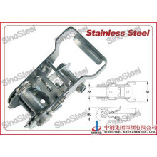 Stainless Steel Ratchet Buckle for Ratchet Tie Down