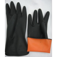 Gants de latex noir industrie