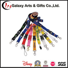 Cheap Screen Printing Promotional Polyester Customised Lanyards with Logo