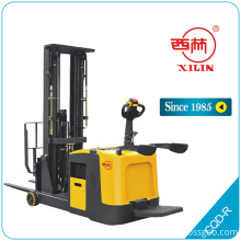 China for Ride-On Pallet Truck CQD-R powered paller truck with standing platform supply to Hungary Suppliers