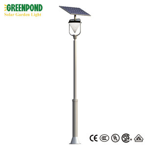 Cone Shaped Brief Style Solar Garden Light