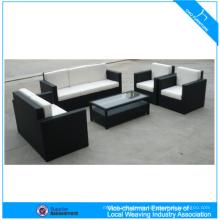 Top Qualität Heißer Verkauf Außenmöbel 4 Stücke Pe Rattan Beliebte Sofa Set