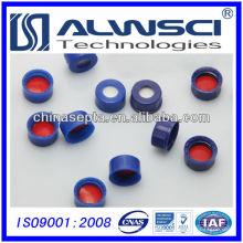 Tapas de rosca de plástico adhesivo de 9 mm