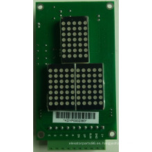 Elevador paralelo, indicador de matriz de punto, elevación indicador (CD342)