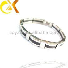 Bracelete de prata dos homens da jóia