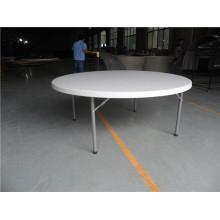 Mesa de dobramento de plástico de 180 cm para uso em grande festa
