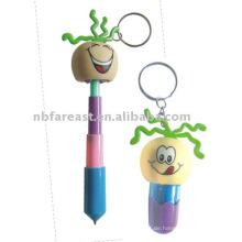 Kugelschreiber mit Schlüsselbund