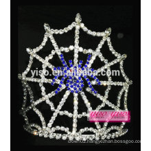 gorgeous sapphire blue spider halloween party pageant tiara