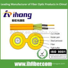 Optical fiber Duplex Zipcord Armored Indoor Cable