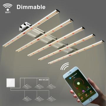 Phlizon 400W Dimmable LED élèvent des barres lumineuses