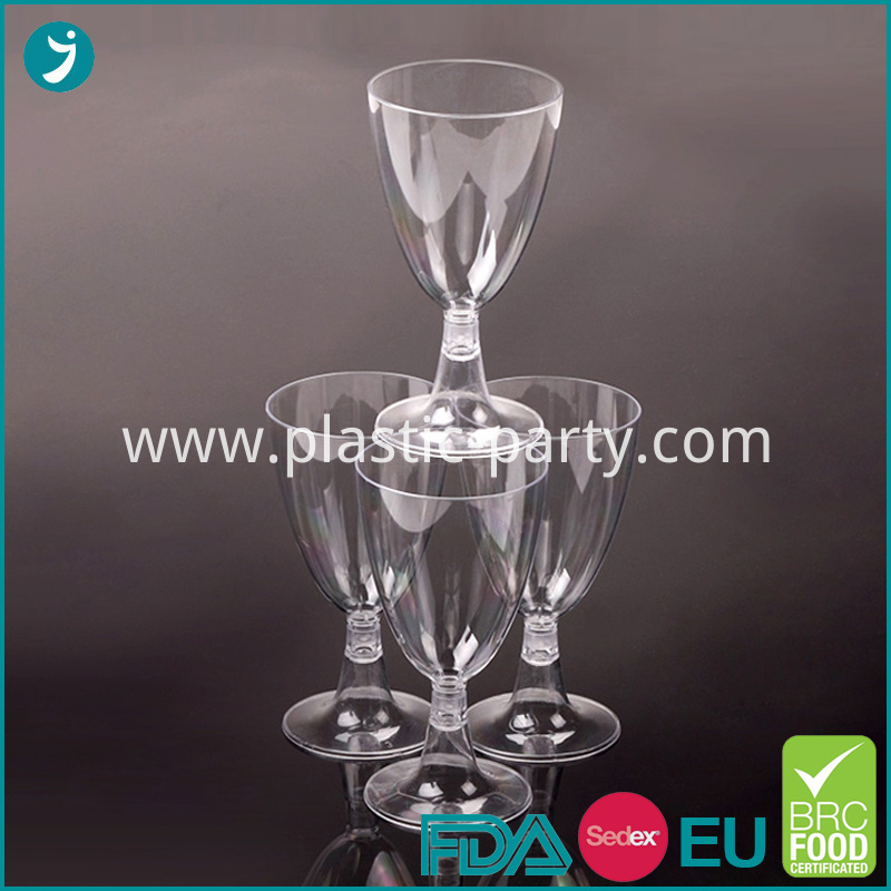 Plastic Glasses Wine