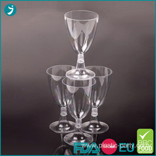 Party Plastic Wine Glasses 5oz Clear Disposable