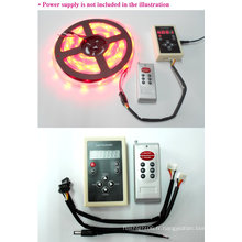 5050 2811IC SMD Digital LED Strip 12V RF Remote Controller