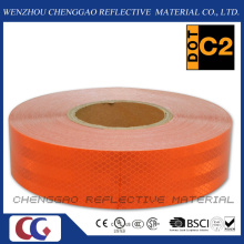 Hot Selling Fluorescent Orange Reflective Adhesive Tape for Truck (CG5700-OO)