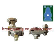 braçadeira de tubo de solda corda ajustável braçadeira de emenda especial cabo de linha de energia elétrica harnware elétrica linha de montagem aérea