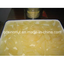 Canned Pear Slices in L/S (400g, 800g, A9, A10 HACCP, ISO, BRC)