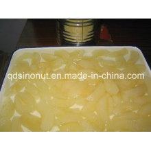 Rebanadas de peras enlatadas en L / S (400g, 800g, A9, A10 HACCP, ISO, BRC)