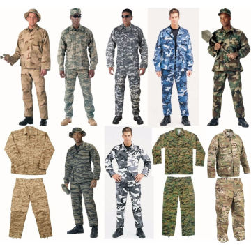 Wholesale Camouflage Uniforms with Fabric Manufacturer for Military