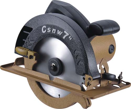 7' Electric circular saw