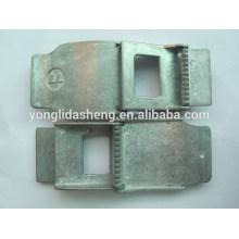Matériau en alliage de zinc boucle.custom boucles de ceinture militaire