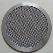 Malha de arame holandesa usada filtro
