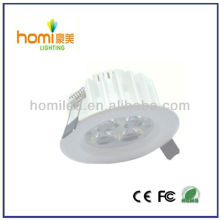 3W ceiling light white print downlight