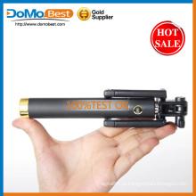 Autoretrato monopé telescópico Selfie Stick com built-in Bluetooth obturador remoto