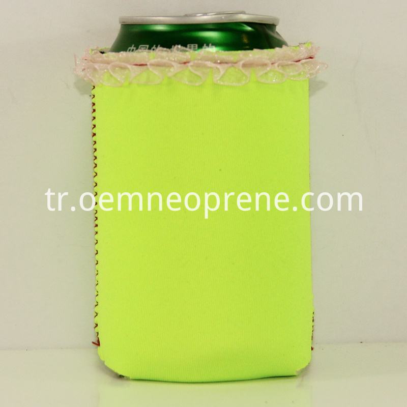 Alt Bright Green Beer Coolers