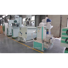 Máquina de molienda de arroz Mini planta de molino de arroz