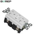 Tomacorriente de toma de corriente eléctrica de 20A 125V GFCI
