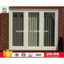 aluminium air conditioner fixed window with tempered glass aluminium air conditioner fixed window with tempered glass