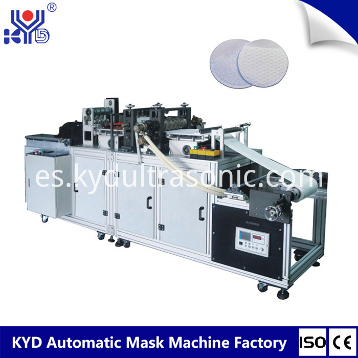 half round cotton pad making machine