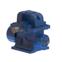 Transmission Double Enveloping Worm Gearbox Application for Construction Machinery