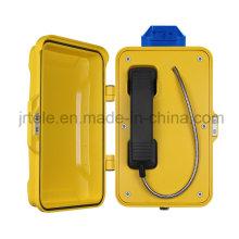Sistema de alarma del túnel, teléfono sin hilos resistente, teléfono subterráneo del SIP / VoIP