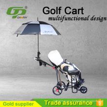 High quality golf three wheel trolleys