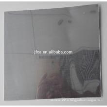 Feuille d'aluminium miroir poli 1070 avec réflexion de 86%