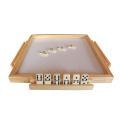 GIBBON Wooden Dominoes Folding Table